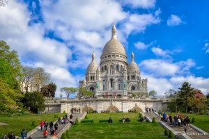 The Sacré-Cœur Basilica in Paris, France