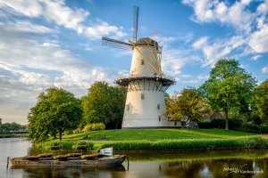 "Windmill ""De Hoop"" in MIddelburg, the Netherlands"